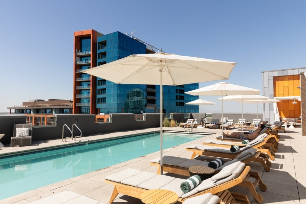 Canopy Hotel Tempe rooftop